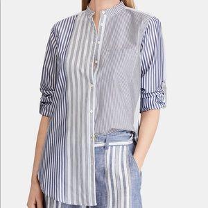 Ralph Lauren Contrast Striped Shirt.